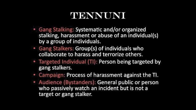 Introduction to Gang Stalking | ConCen